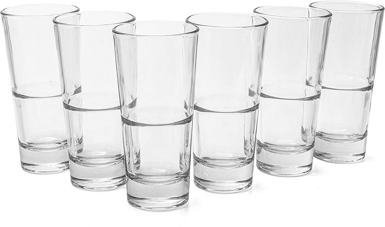 Lot de 6 verres /à long drink pour Coctails Verre super r/ésistant 355 ml
