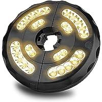 Lámpara para Sombrilla, Eletorot 28 LED 400 Lúmenes 3 Modos Luz Parasol de Patio USB Recargable Luces Sombrillas y…