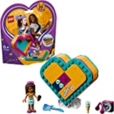 LEGO 41354 Friends Andrea's Heart Box Set, Andrea mini-doll and Acessories, Collectible Toys for Kids