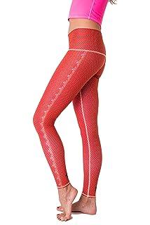 ff10e981496e3d Amazon.com: Teeki Women's Legging Or Hot Pant, Polka Dot Cowgirl ...