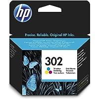 HP F6U65AE (302) Mürekkep Kartuş 165 Sayfa, Üç Renkli