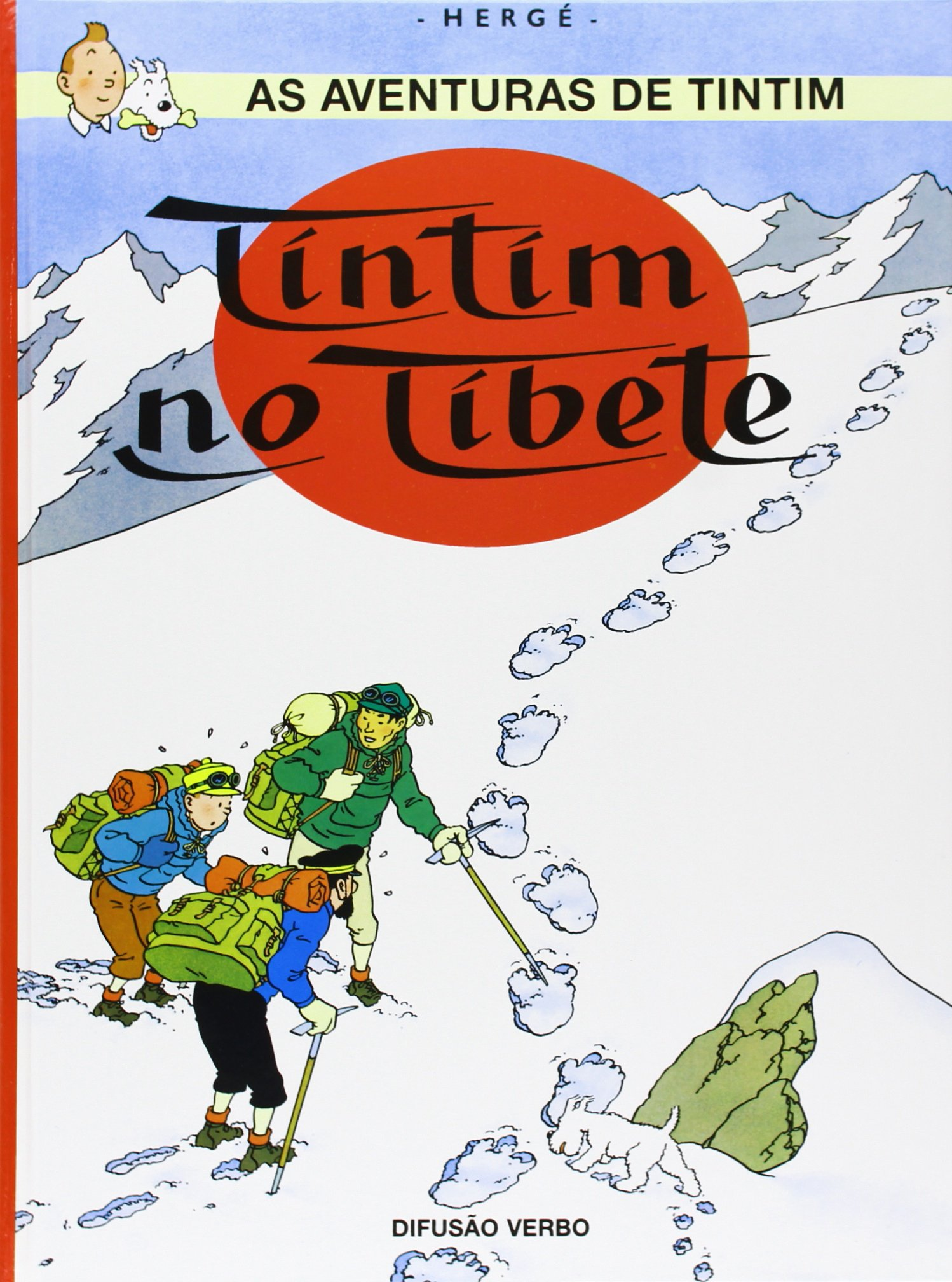 KUIFJE IN TIBET - Portugees (PORTUGESE KUIFJES)