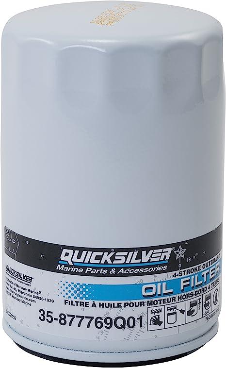 Mercury Quicksilver 92-858119Q01 W Oil-Verado 208L Made by Mercury Quicksilver