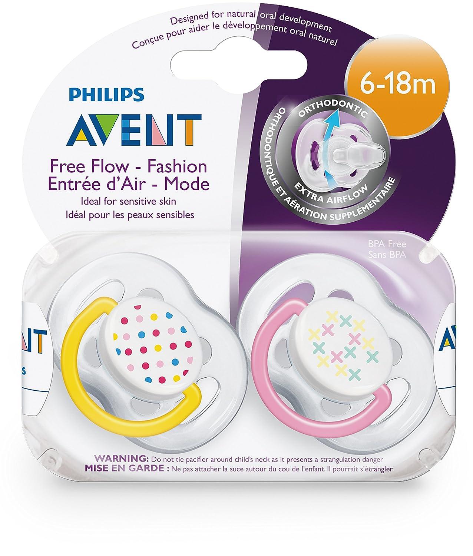 Amazon.com : Philips Avent 6-18 Months Orthodontic Freeflow ...