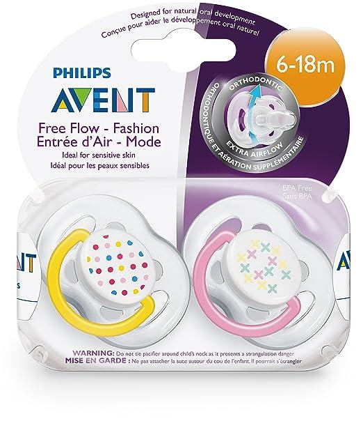 Philips AVENT Schnuller FreeFlow Trend Doppelpackung 0-6 SCF180//23 *Neu*