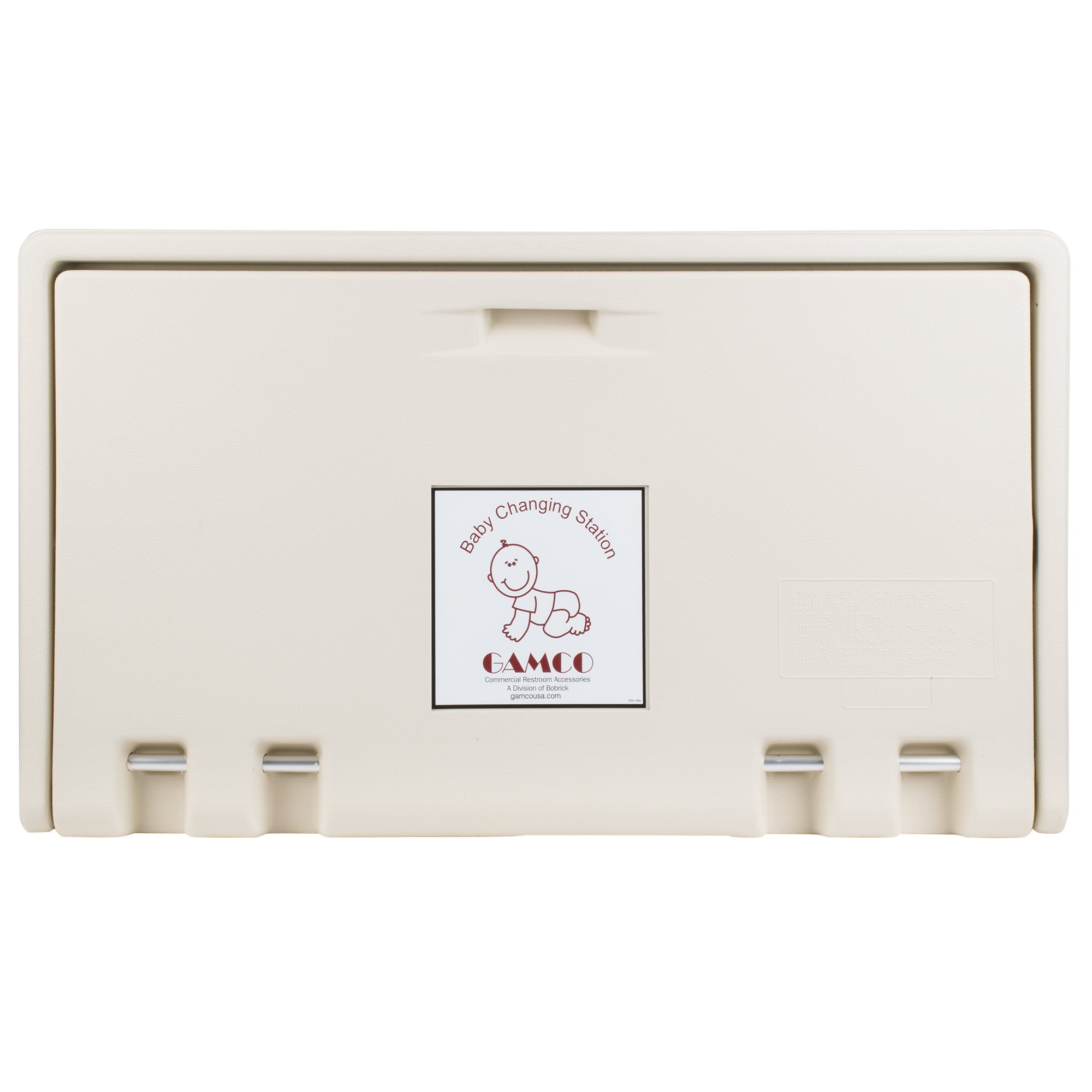Koala Kare KB200-00 Horizontal Wall Mounted Baby Changing Station, Cream (Light Cream) by Koala Kare