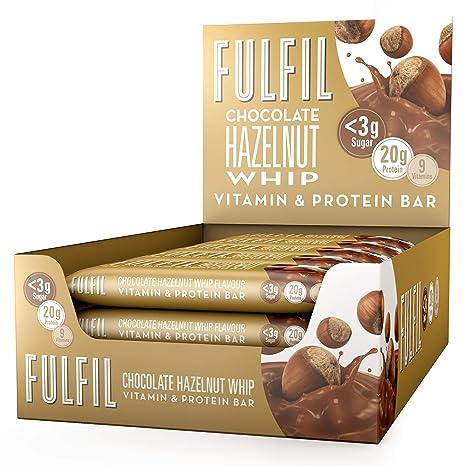 b4dd80664 Fulfil Hazelnut Whip Vitamin and Protein Bar