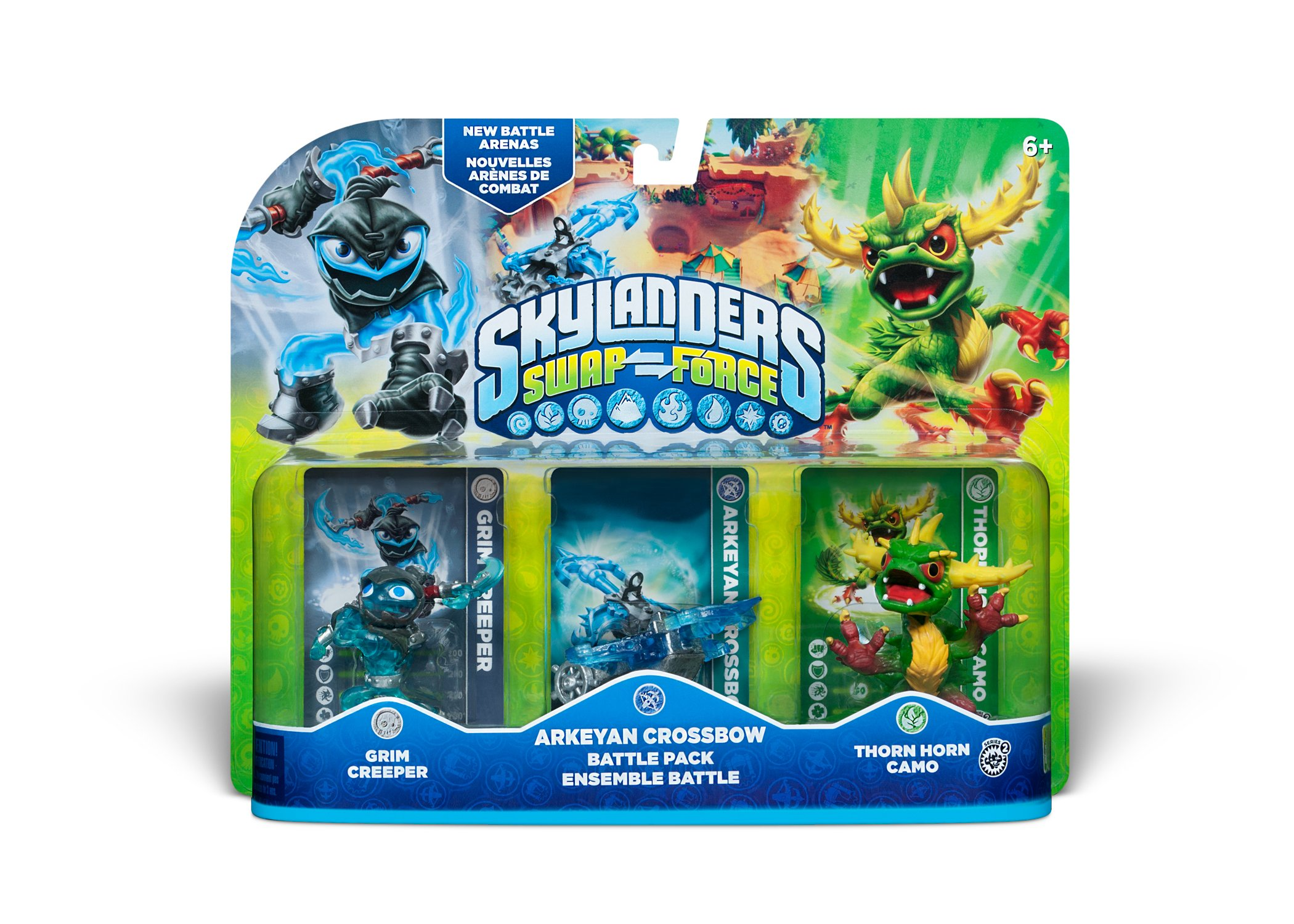 Uncategorized Skylanders Swap Force.com amazon com skylanders swap force arkeyan crossbow battle pack pack