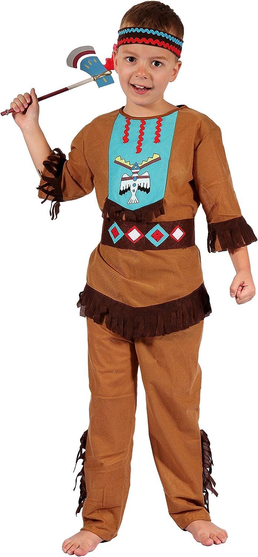 Disfraz de indio Magicoo niño niño con tocado - Disfraz de ...