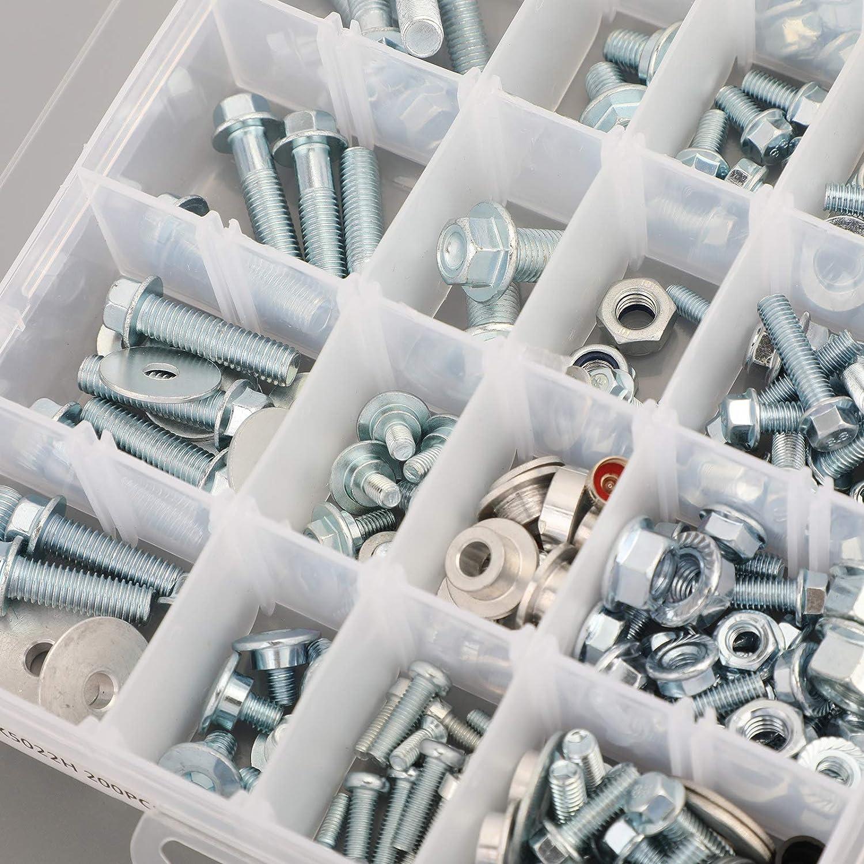 Areyourshop Body Plastics Frame Seat Bolt Kit Fit for Honda CR 60 85 125 CRF 230 250 450