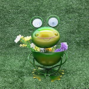 Cinda Electronic Cartoon Frog Solar Garden Light Outdoor Decoration Solar Light Lawn Passage Yard Driveway Outdoor Garden Light Solar Waterproof Solar Flower Lighting Outdoor Garden