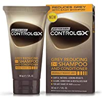 Just For Men - Control GX Grey Reducing 2-in-1 Shampoo and Conditioner, 147 ml