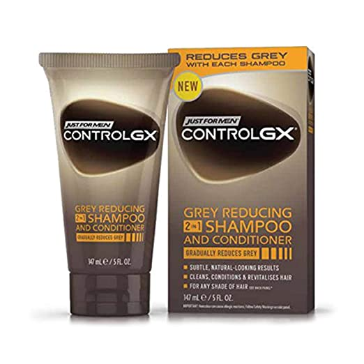 Sólo para hombres Control GX 2 en 1 Champú y Acondicionador, 147 ml