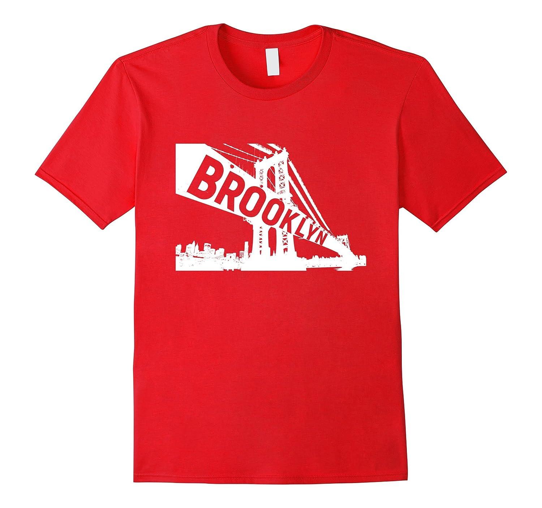 Manhattan Bridge Brooklyn New York T-Shirt-TD