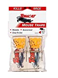 Tomcat 0373312 Mouse Traps (Wooden), 4 Pack