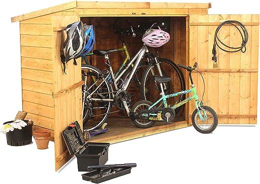 BillyOh - Cobertizo para bicicletas (95 x 185, 2 cm): Amazon.es ...