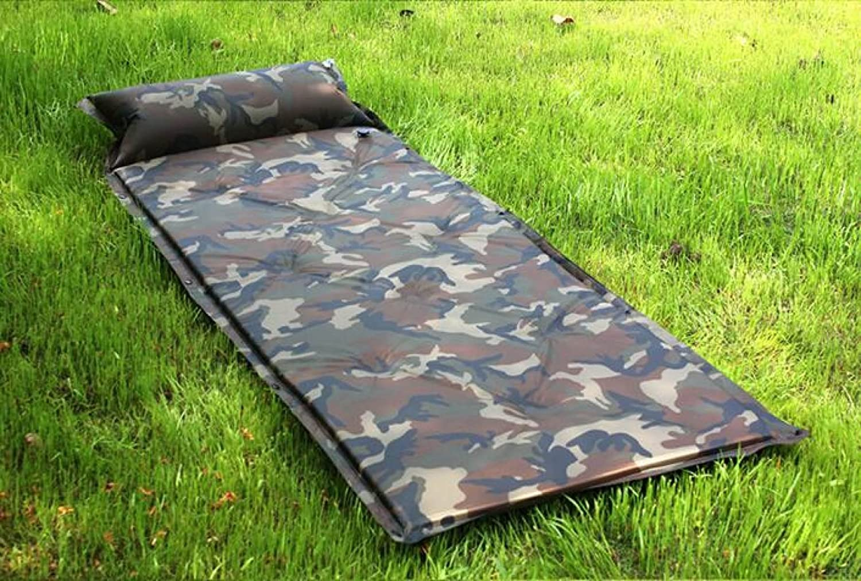JKLDSHFOIE FeuchtigkeitsBesteändige Automatische Aufblasbare Pad Outdoor Camping Pillow Automatische Aufblasbare Camping Matratze,A3