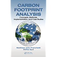 Carbon Footprint Analysis: Concepts, Methods, Implementation, and Case