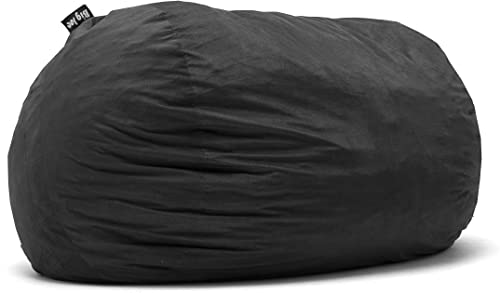 Big Joe Lenox Fuf Foam Filled Bean Bag, Extra Extra Large, Black – 1655