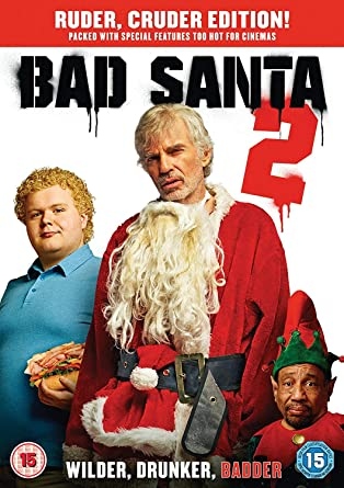 Bad Santa 2 Dvd Amazoncouk Billy Bob Thornton Christina