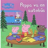 Peppa Pig va en autobús. Peppa Pig. Primeras lecturas