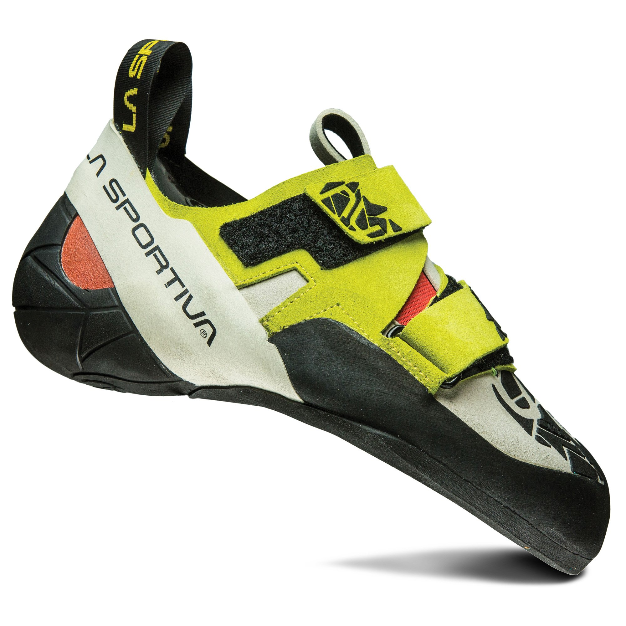 La Sportiva Otaki Climbing Shoe - Women's Sulphur / Coral 38.5