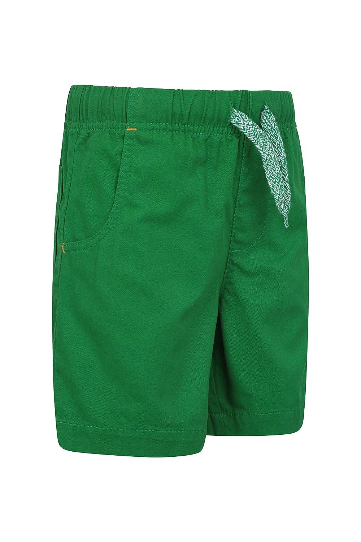 Pantaloni Corti Elastici di Waistband Mountain Warehouse Waterfall Shorts del Cerchio dei Capretti Shorts di Estate dei Bambini Leggeri Pantaloni di Wicking