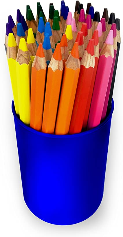 Hexagonal Shape with Large 5.5mm Lead 8 x GIOTTO SUPER JUMBO COLOURING PENCILS
