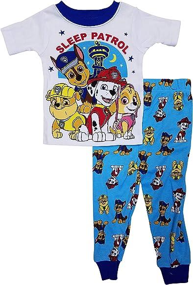 9fce3fb340fe7 Amazon.com: Paw Patrol Boys Pajamas - Sleep Patrol (5T) Blue: Clothing