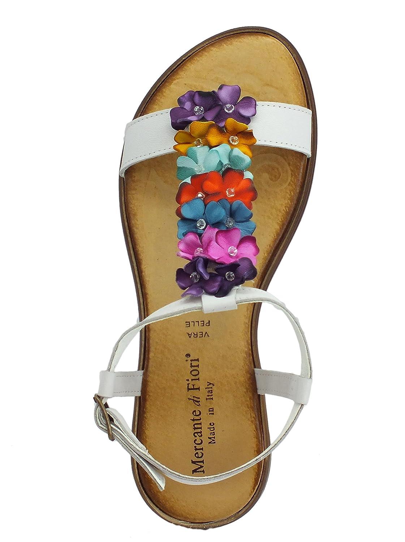 afb2b90a Mercante di Fiori - Sandalias de Cuero para Mujer: Amazon.es: Zapatos y  complementos