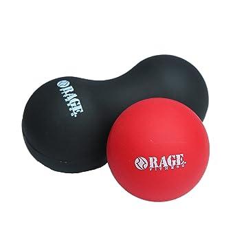 Rage Fitness Massage Roller Set Mobility Massage Ball And Peanut