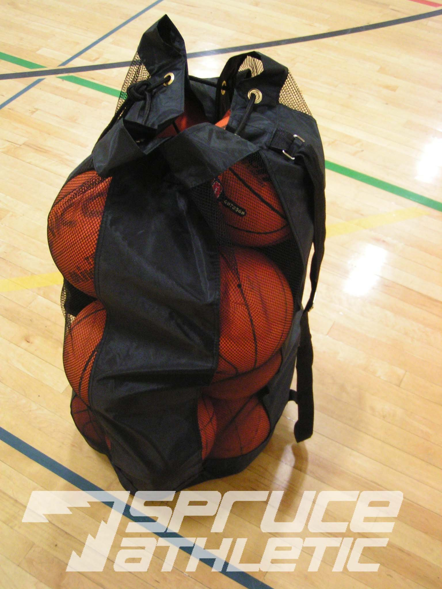 Spruce Athletic X-Large Heavy Duty Ball Bag (Holds 18 Soccer Balls or 15 Youth Basketballs) by Spruce Athletic (Image #2)