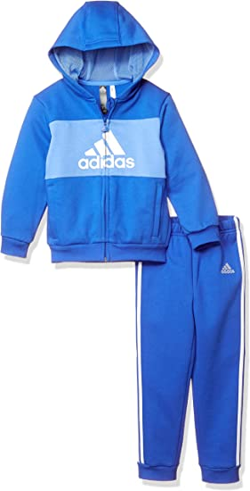 comodidad Injusto Rebajar  adidas I Logo Full Zip Hooded Jogger Fleece Chandal, Unisex Niños: Amazon.es:  Ropa y accesorios