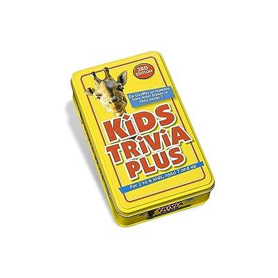Paul Lamond Games Kids Trivia Plus - Juego de Preguntas Infantiles (en inglés): Kids Trivia Plus: Juguetes y juegos