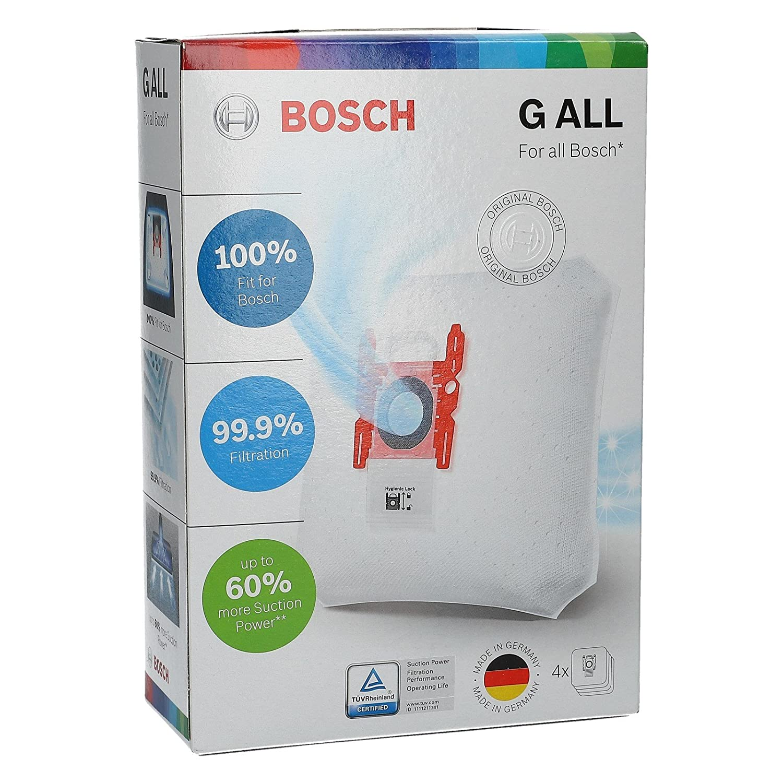 8 Pack Originale Bosch tipo P MEGA AIR SUPERTEX Aspirapolvere Sacchetti