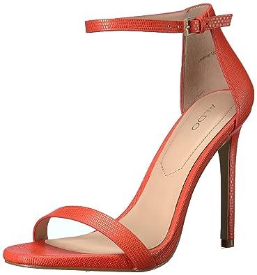ALDO Women's Caraa Dress Sandal, Red Miscellaneous, ...