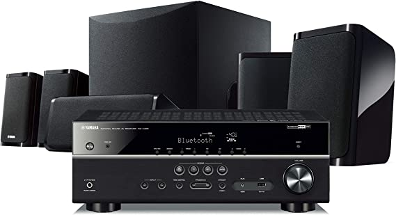 Yamaha YHT-5950UBL 4K Ultra HD 5.1-Channel Home Theater System with Wi-Fi