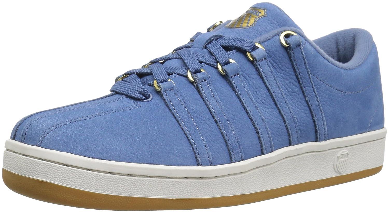 K-Swiss Women's Classic 88 P Sneaker B01N39M4FH 5 B(M) US|Coronet Blue/Vaporous Gray/Gold