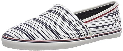 Lacoste AIMARD 6 AP - Zapatillas de casa de lona hombre, color, talla 47: Amazon.es: Zapatos y complementos