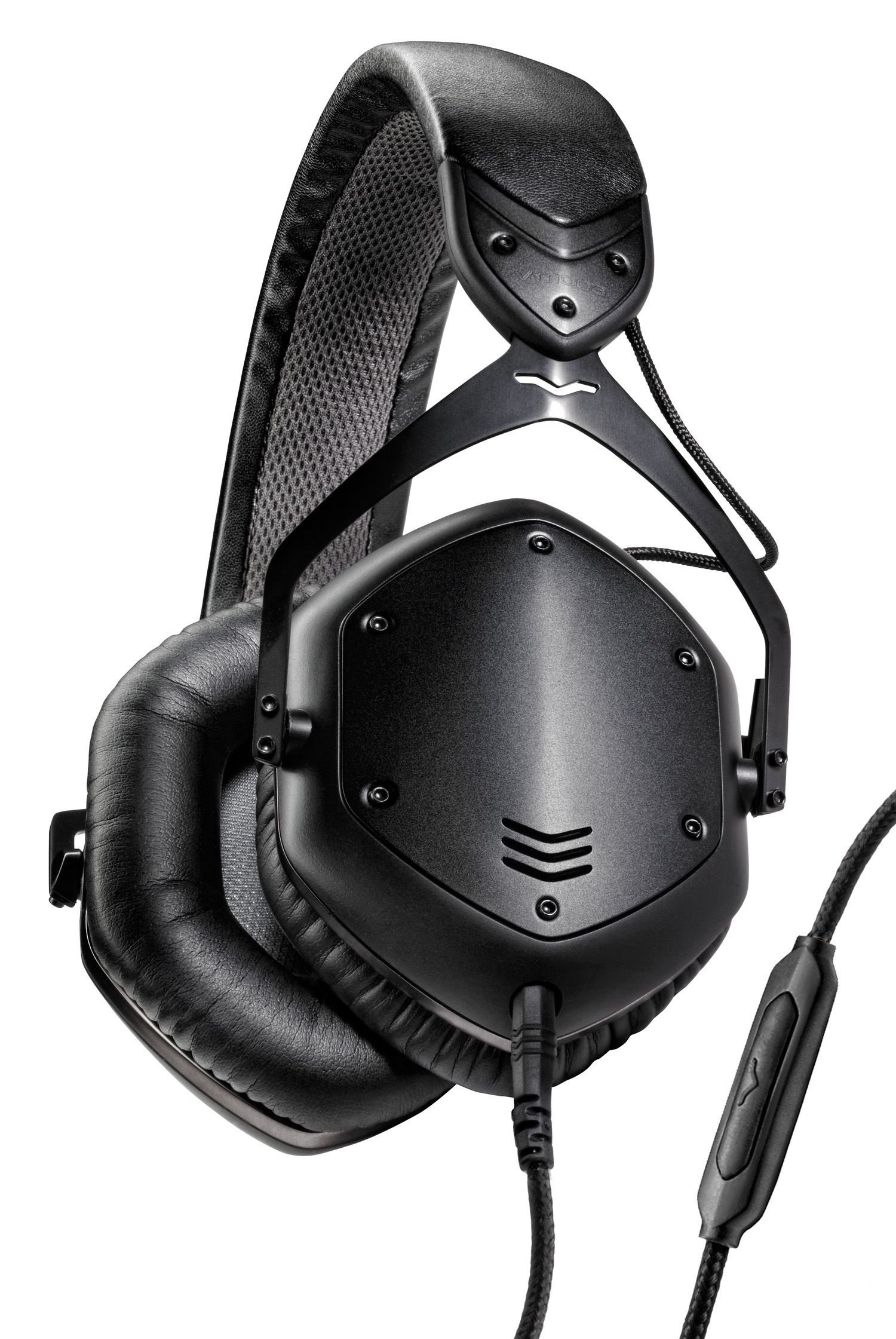 V-MODA Crossfade LP2 Vocal Limited Edition Over-Ear Noise-Isolating Metal Headphone (Matte Black) by V-MODA