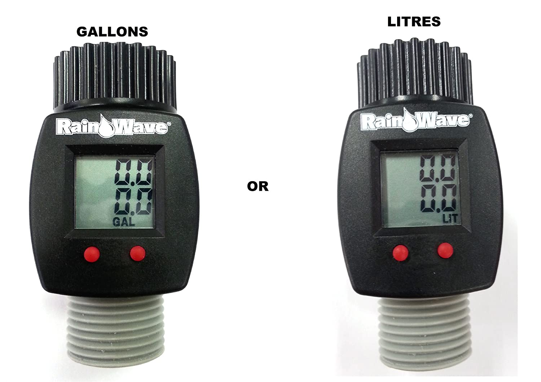 Digital Water Meter : Lcd digital water flow meter electronic with display panel