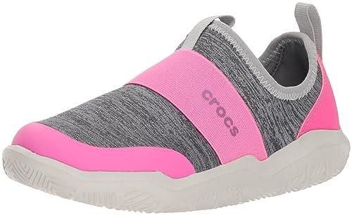 870e1f111d6e Crocs Kids  Swiftwater Easy-On Heathered Shoe  Amazon.ca  Shoes ...