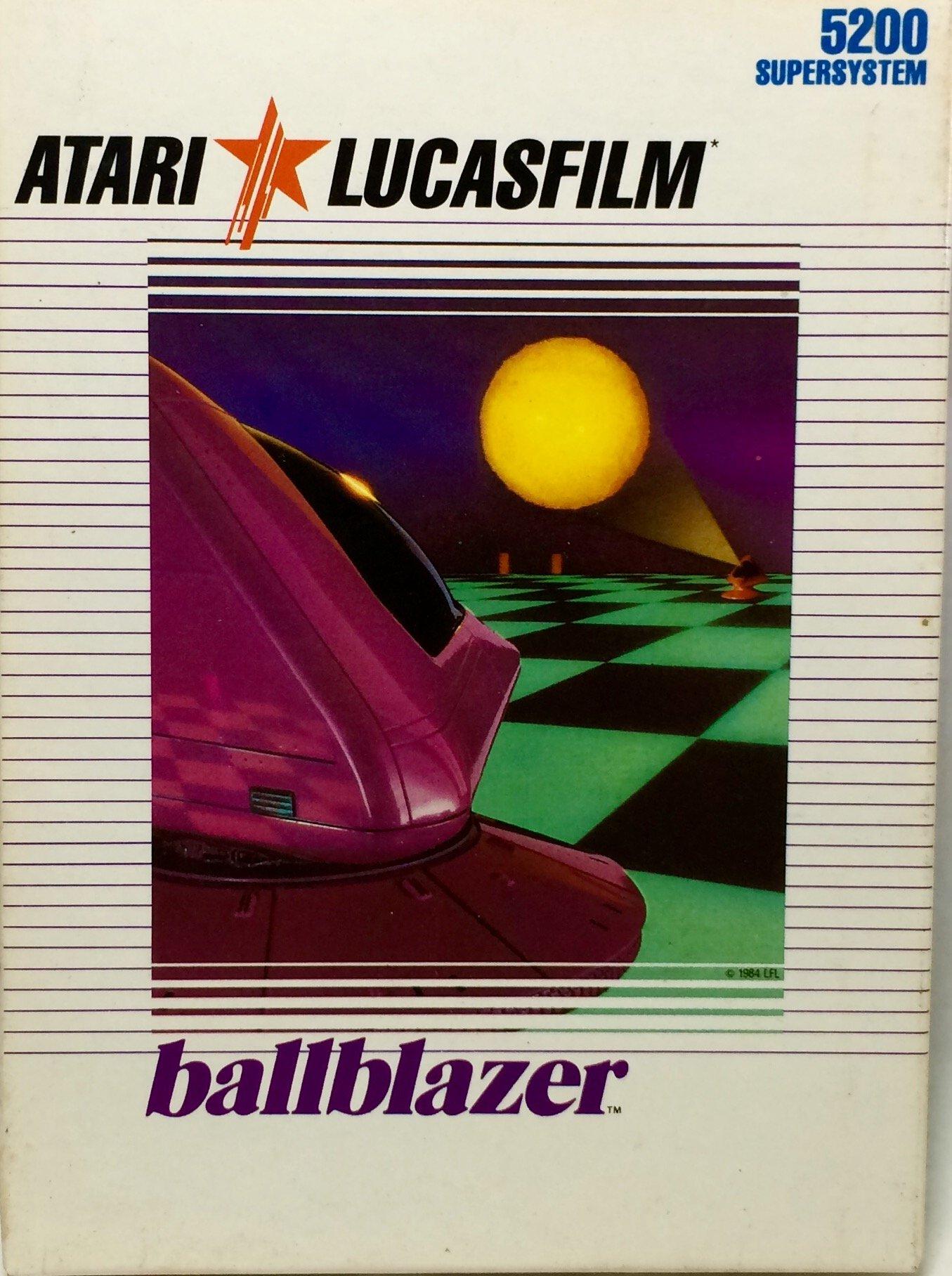 Ballblazer - Lucasfilm - NTSC - Atari 5200 Supersystem by Lucasfilm (Image #1)