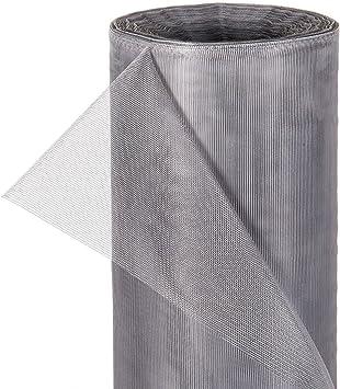 Fliegennetz Meterware 1,2m, Grau