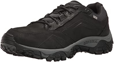 Men Moab Adventure Lace Waterproof Hiking Shoes Merrell