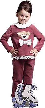 CHANDAL niña rosa CHARLOTTE _ chandal niña invierno, chandal ...