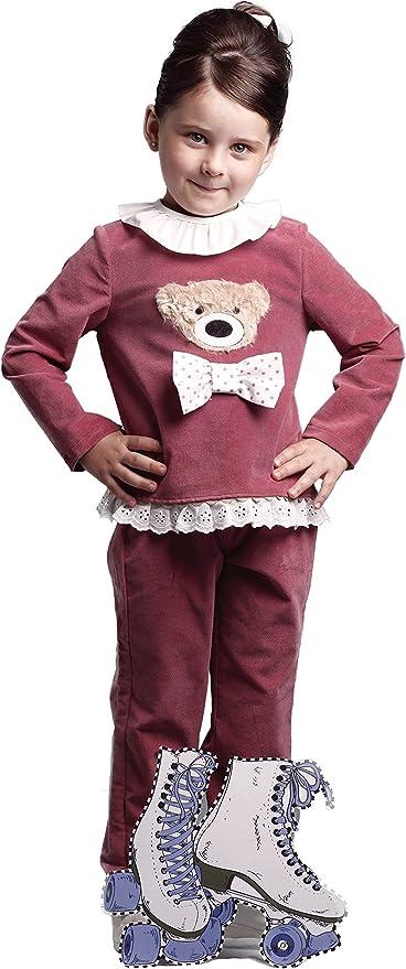 CHANDAL niña rosa CHARLOTTE _ chandal niña invierno, chandal niña ...