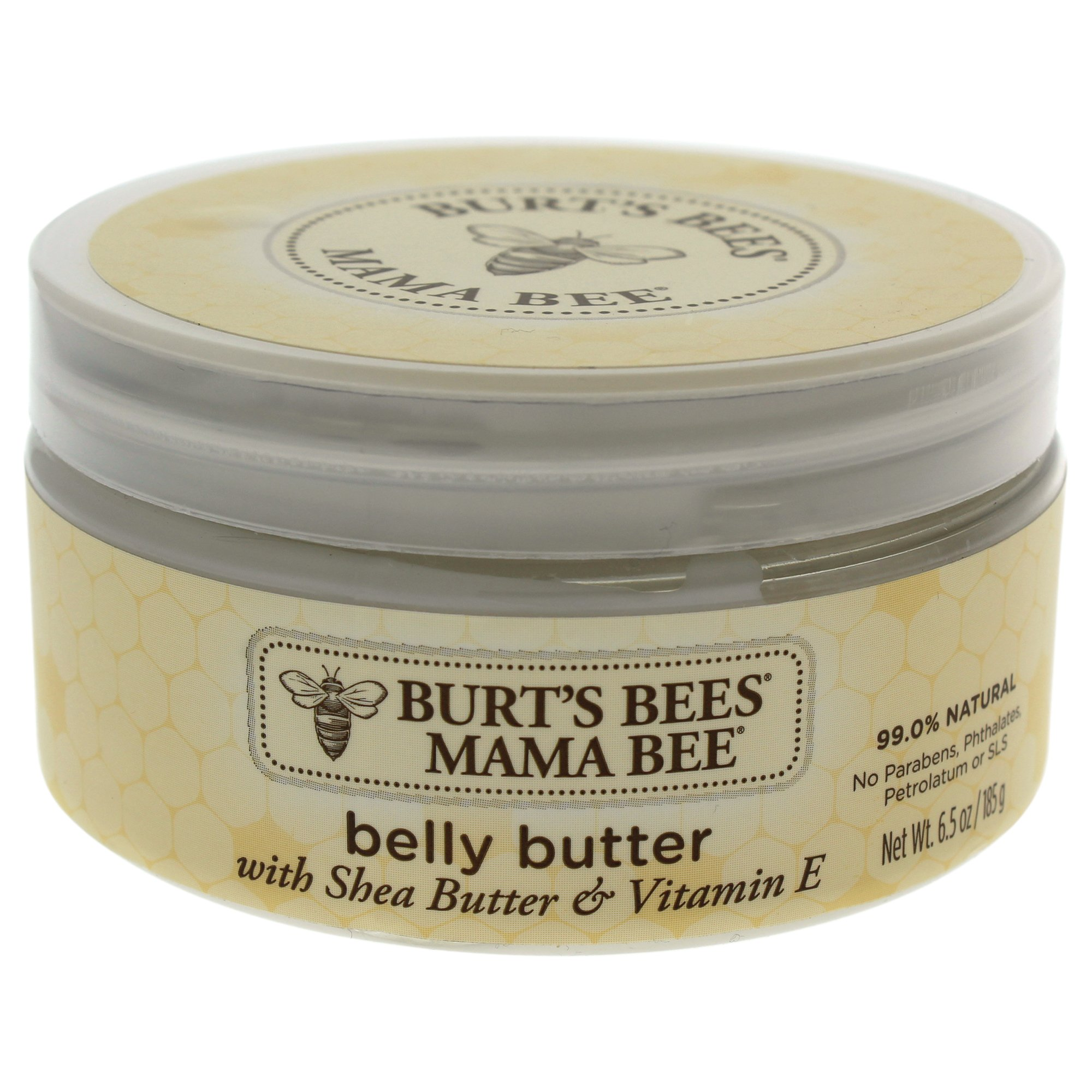 Burt's Bees Mama Bee  Belly Butter, Fragrance Free Lotion, 6.5 Ounces