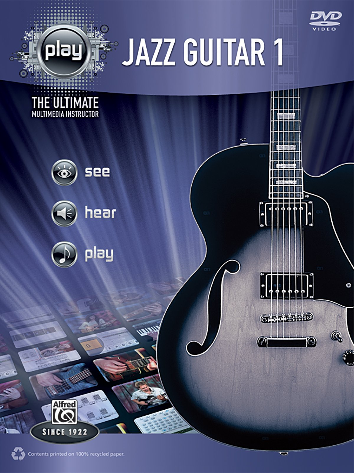Alfred's PLAY Jazz Guitar 1: The Ultimate Multimedia Instructor (Book & DVD) (Alfred's Play Series) ebook