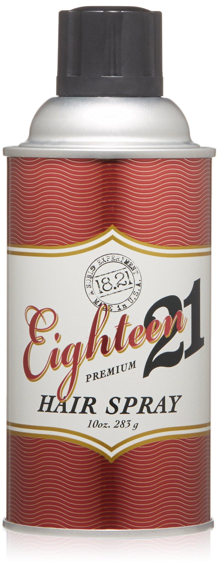18.21 Man Made Premium Hair Spray, 10 oz